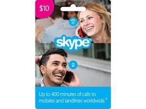 Skype $10 Prepaid Credit