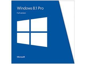 Microsoft Windows 8.1 Pro - Full Version (32 & 64-bit)