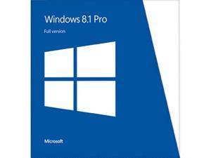 Microsoft Windows 8.1 Pro - Full Version (32 & 64-bit)