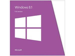 Microsoft Windows 8.1 - Full Version (32 & 64-bit)