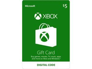 Xbox Gift Card $5 US (Email Delivery)