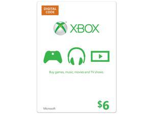 Microsoft Xbox Gift Card $6 US (Email Delivery)