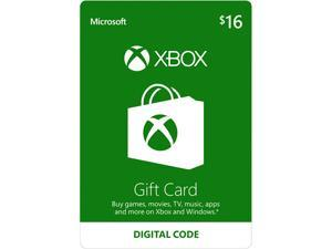 Xbox Gift Card $16 US (Email Delivery)