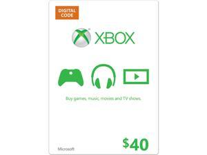 Microsoft Xbox Gift Card $40 US (Email Delivery)