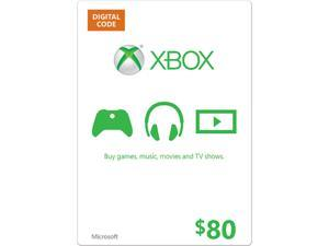 Microsoft Xbox Gift Card $80 US (Email Delivery)