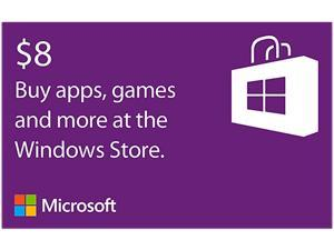 Microsoft Windows Store Gift Card - $8 (Email Delivery)