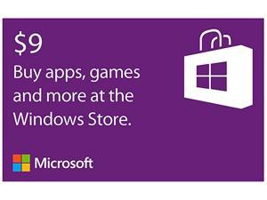 Microsoft Windows $9 Online Gift Card (Email Delivery)