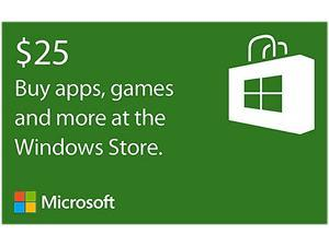 Microsoft Windows $25 Gift Card - Holiday Bundle Offer (Email Delivery)