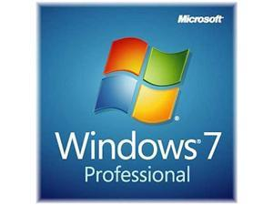 Microsoft Windows 7 Professional SP1 64-bit (Slim Envelope) - OEM