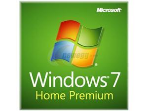 Microsoft Windows 7 Home Premium SP1 32-bit (Slim Envelope) - OEM