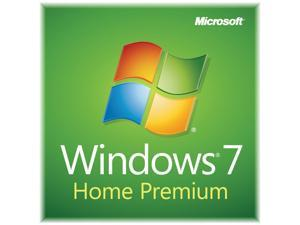 Microsoft Windows 7 Home Premium SP1 32-bit - OEM