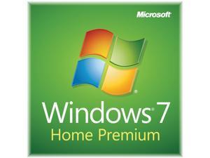 Microsoft Windows 7 Home Premium SP1 64-bit - OEM