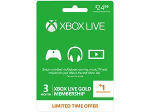 free xbox live prepaid card code