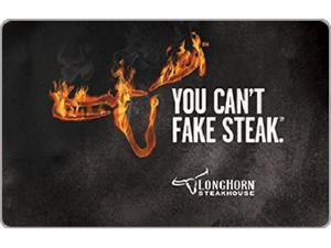 LongHorn Steakhouse $100.00 Gift Card (Email Delivery)