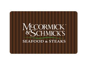 McCormick & Schmick's $50 Giftcard (Email Delivery)