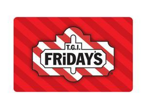 TGI Friday's $25 Gift Card (Email Delivery)