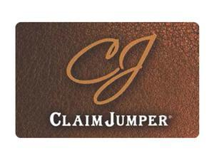 Claim Jumper $50 Giftcard (Email Delivery)