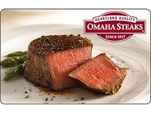 Omaha Steaks $10 Promo Card