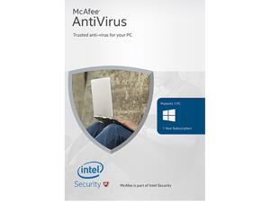 McAfee 2016 Antivirus Basic 1 Device - Download