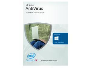 McAfee Antivirus Basic 2016 - 1 Device