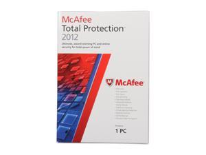 McAfee Total Protection 2012 - 1 User