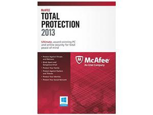 McAfee Total Protection 2013 - 3 PC Downlaod