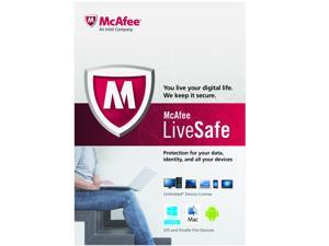 McAfee LiveSafe Unlimited Device (Retail) - 1 Year