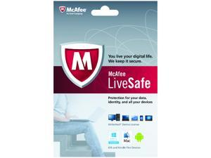 McAfee LiveSafe Unlimited Device - 1 Year