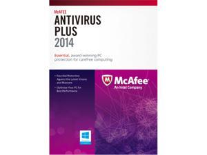 McAfee AntiVirus Plus 2014 1 PC - Download