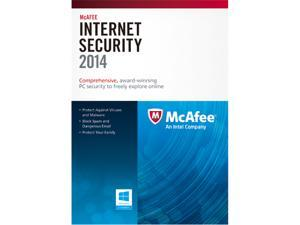 McAfee Internet Security 2014 1 PC - Download