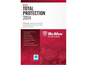 McAfee Total Protection 2014 1 PC - Download