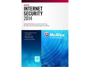 McAfee Internet Security 2014 - 3 PCs (Product Key Card)