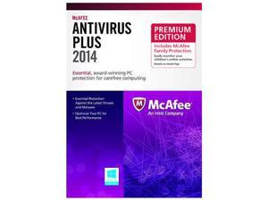 McAfee AntiVirus Plus 2014 - 3 PCs + Family Pack