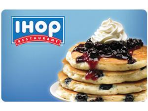 IHOP $50 Gift Card (Email Delivery)