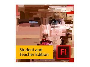 Adobe Flash Pro CS6 for Mac - Student & Teacher Edition  Academic Version [Legacy Version]