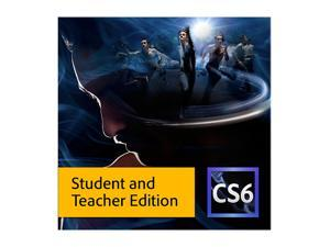 Adobe Production Premium CS6 for Windows - Student & Teacher - Download [Legacy Version]