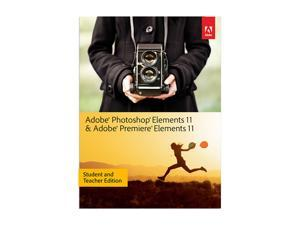 Adobe Photoshop & Premiere Elements 11 for Windows & Mac - Student & Teacher Edition Academic Version