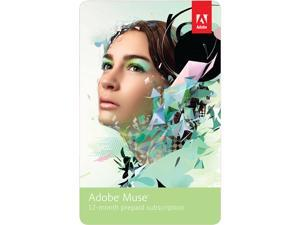 Adobe Muse - 12 Month Subscription - Digital Delivery
