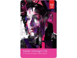 Adobe InDesign CS6 - 12 Month Subscription - Digital Delivery