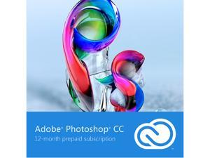 Adobe Photoshop CC - 12 Month Subscription - Digital Delivery