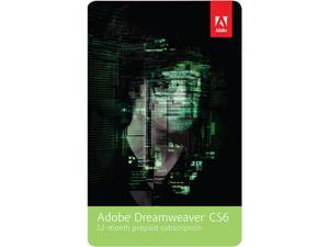 Adobe Dreamweaver CS6 - 12 Month Subscription - Digital Delivery