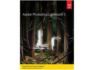 Adobe Photoshop Lightroom 5 for Windows & Mac - Student & Teacher - Download
