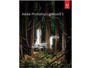 Adobe Photoshop Lightroom 5 for Windows & Mac - Upgrade Version