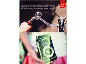 Adobe Photoshop & Premiere Elements 12 Bundle for Windows & Mac - Full Version