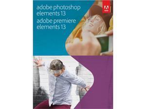 Adobe Photoshop & Premiere Elements 13 Bundle for Windows & Mac - Full Version