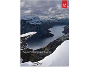 Adobe Photoshop Lightroom 6 for Windows & Mac - Full Version