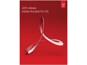 Adobe Acrobat Pro DC 2015 for Windows