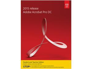 Adobe Acrobat Pro DC for Mac - Student & Teacher