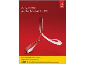 Adobe Acrobat Pro DC for Windows - Student & Teacher