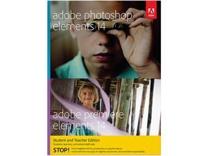 Adobe Photoshop & Premiere Elements 14 for Windows & Mac - Student & Teacher - Download
